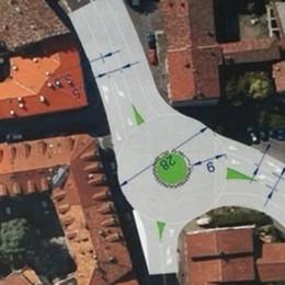 Una nuova rotatoria a San Rocco I progettisti: «C'è spazio per realizzarla»
