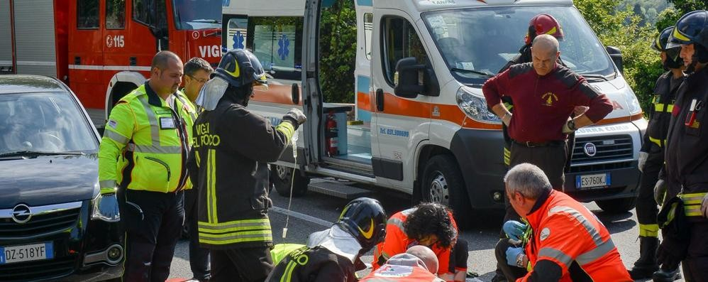 Allarme incidenti a Como  In un anno 600 feriti e 4 morti