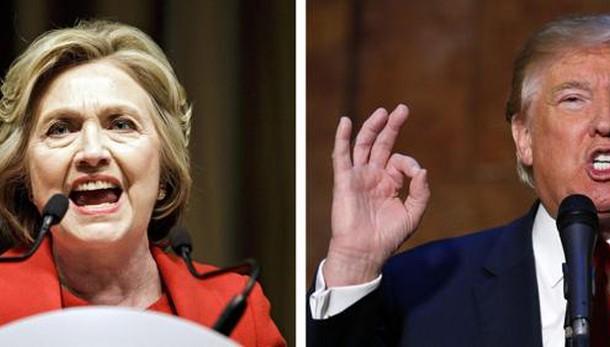 Usa 2016: Hillary-Trump,60% non gradisce