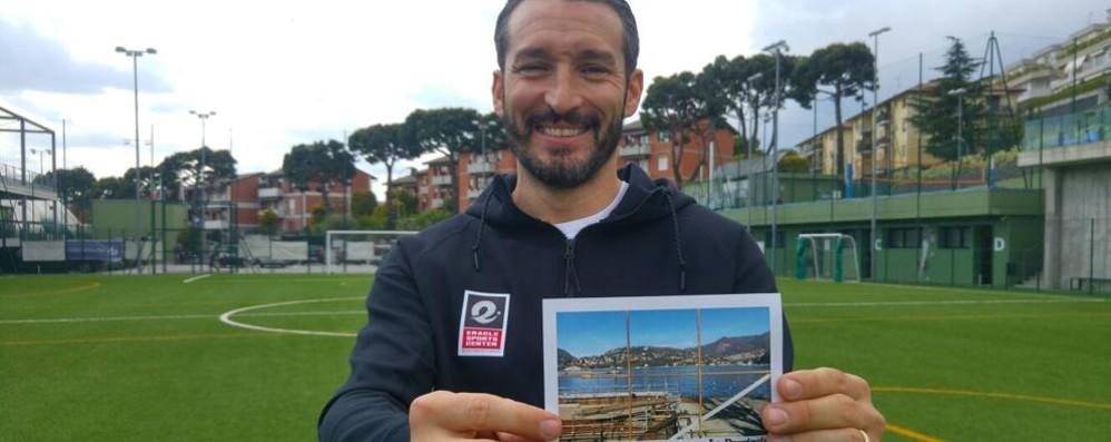 Gianluca Zambrotta firma  «Vinciamo insieme la sfida»