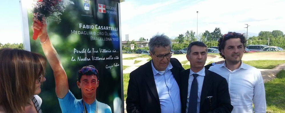 Inaugurata in provincia di Cuneo   una pista dedicata a Casartelli