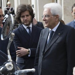 Mandello. Guzzi California  All'esame di Mattarella