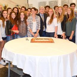 Un'Olimpiade val bene una torta Che festa alla Lario per Bertolasi