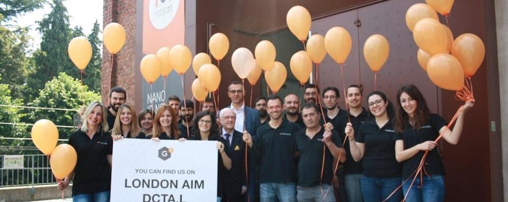 «Directa Plus in Borsa  Un orgoglio per Como»