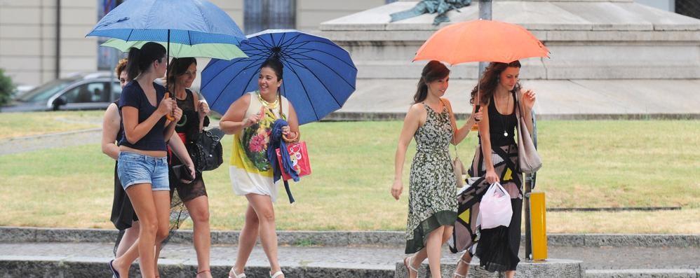 Fine settimana di pioggia Tempo instabile per giorni
