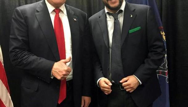 Trump, Salvini? Non ho voluto vederlo