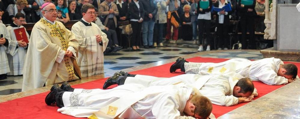 Como, la Chiesa in festa  per i tre nuovi preti
