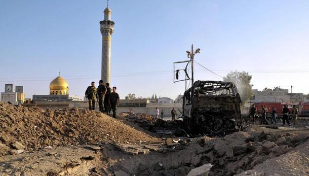Siria: attacco mausoleo, Isis rivendica