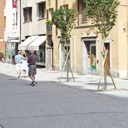 Como: nuova via Garibaldi il sondaggio   «Ok l'addio alle auto e adesso i tavolini»