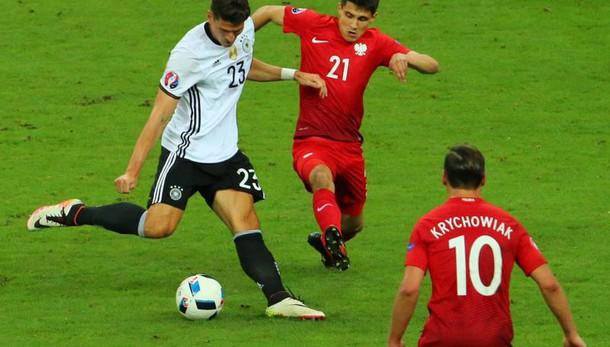 Euro 2016: Germania-Polonia 0-0