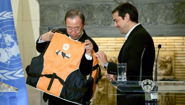Ban elogia Grecia per aiuti a migranti