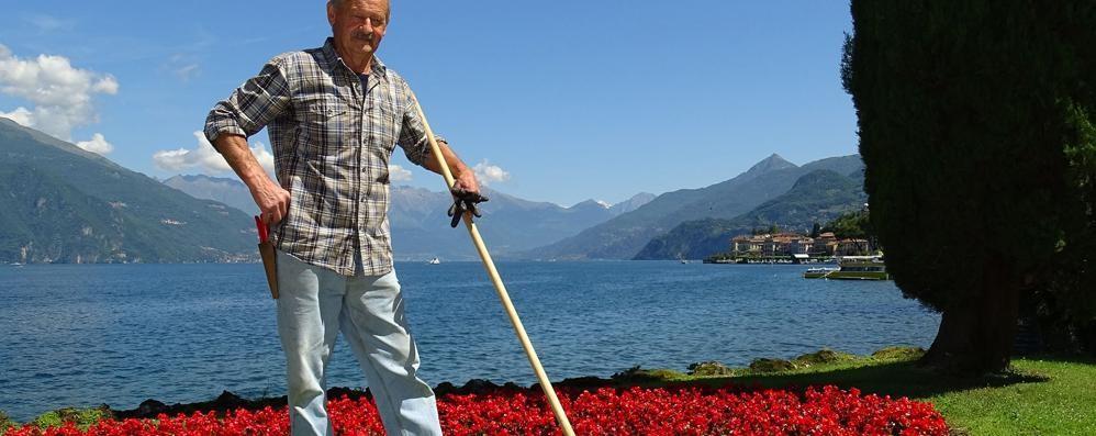 Nino e i giardini di Villa Melzi  Da 45 anni li rende così belli