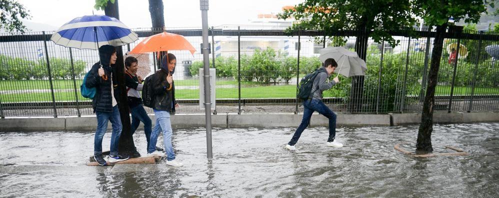 Maltempo: breve tregua  Rischio pioggia dal pomeriggio