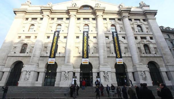 Borsa: Milano apre in calo (-0,19%)