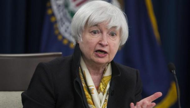 Fed: Yellen, incertezza su economia