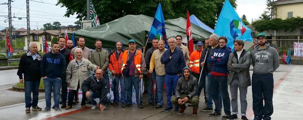 Holcim, lunedì sciopero di otto ore