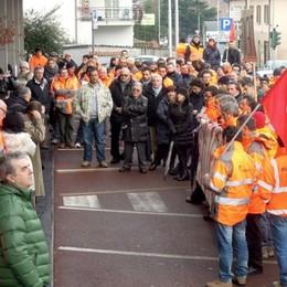 Holcim: «No ai nuovi tagli» Lunedì sciopero e presidio