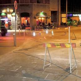 Asfalto in piazza Garibaldi a Cantù  La Soprintendenza «Per noi si può fare»