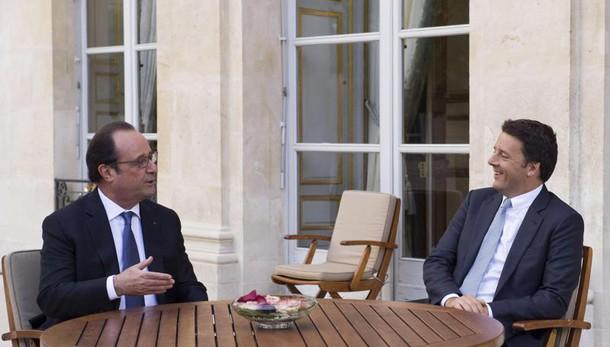 Brexit, sintonia Renzi-Hollande a Parigi