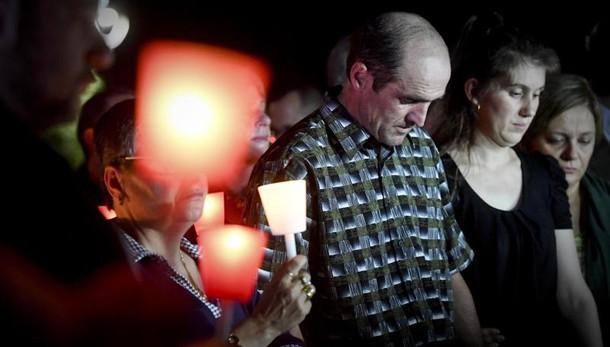 Bimba uccisa,messa e preghiera per Maria