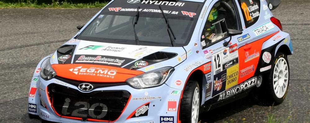 Gilardoni primo, Re secondo Il Rally del Ticino è comasco