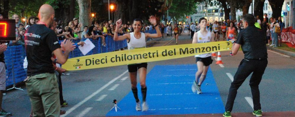 Iozzia, una comasca va in trionfo a Lecco