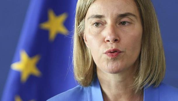 Mogherini, ora forte strategia europea