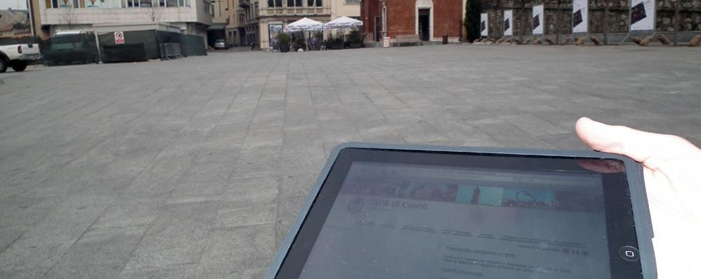 Cantù, stop soldi dell'Expo  Niente servizio wi-fi a Villa Calvi