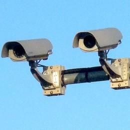Capiago, effetto-telecamere  Meno auto rubate e più multe