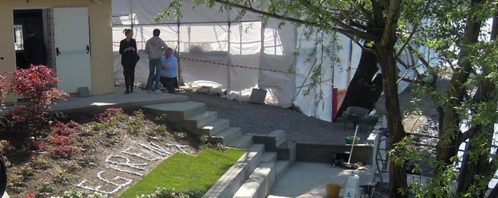 Casa della Pesca distrutta  Pusiano, «No ai lavori»