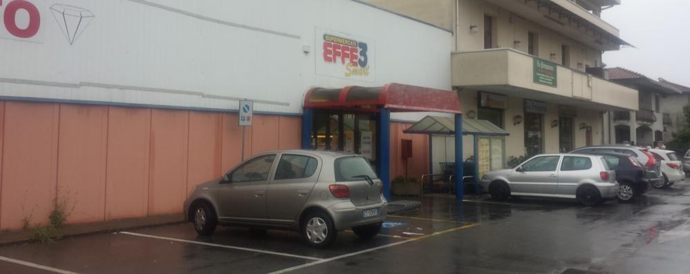 Guanzate perde l'ultimo supermarket  L'Effe 3 chiude dopo ventisette anni