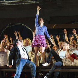 Como arena del Teatro Sociale progetto 200 Comm un progetto per la città spettacolo L'ELISIR D'AMORE di Gaetano Donizetti