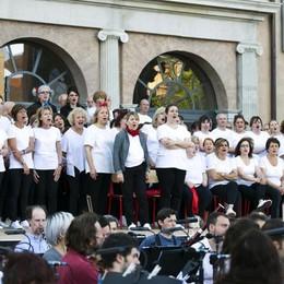 Como arena del Teatro Sociale progetto 200 Comm un progetto per la città prove dello spettacolo L'ELISIR D'AMORE di Gaetano Donizetti