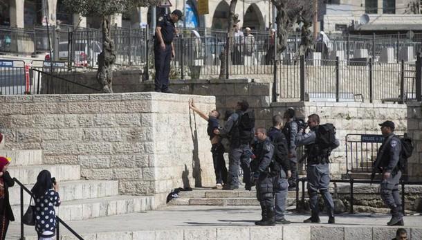 Giornata Gerusalemme, polizia in allerta