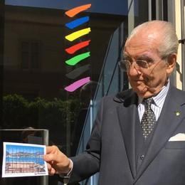 La cartolina di Gualtiero Marchesi  «Adoro il vostro lago»