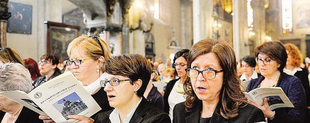 Mille coristi in Duomo «Il canto mostra il bene»