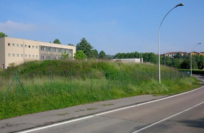 i rovi e le sterpaglie nella zona a sud della nuova ala dell'istituto Fumagalli di Casatenov