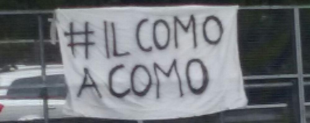 I tifosi sono in rivolta #ilcomoacomo, è il motto