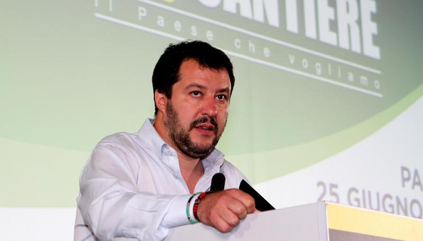 Salvini, se vinciamo Italia via da Euro