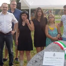 Mariano, un parco ricorda  le vite spezzate di Claudio e Teresa