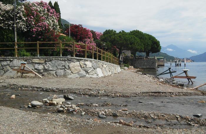 cemento in spiaggia