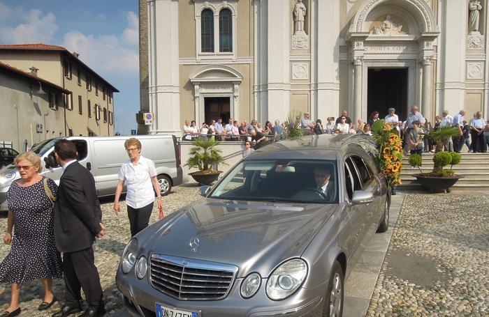 Lurago - Il funerale