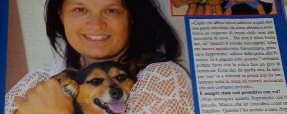 Uggiate, la cagnolina antifurto  Jolie sarà premiata a Camogli