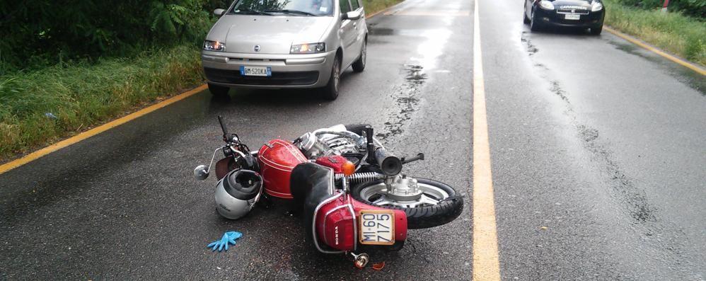 La tragedia di Carimate  Fatale l'asfalto bagnato