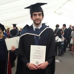 Tiberio, tanta fatica ma ce l'ha fatta  Dislessico e laureato a Oxford