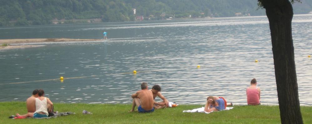 Troppe alghe nel lago  Bagni vietati a Porlezza