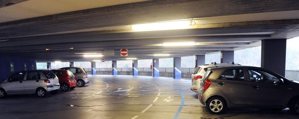 Val Mulini, autosilo vuoto Incassa 120mila euro l'anno  nel 2009 erano 562mila