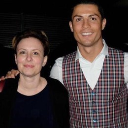 Chantal Borgonovo  invitata a Parigi da CR7