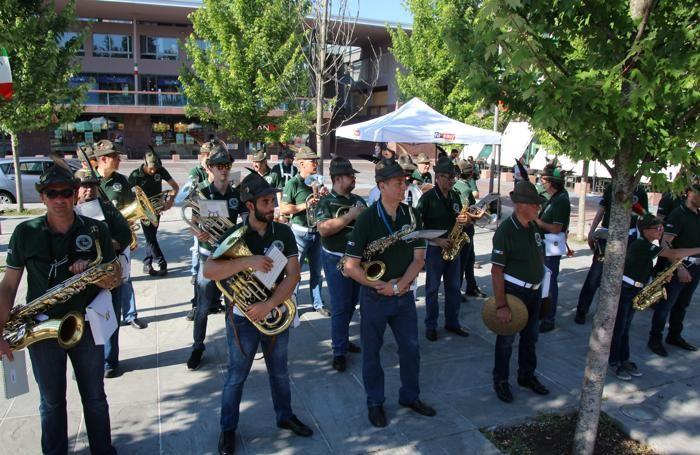 Olgiate Comasco festa per 80 anni Alpini Alpin Cup