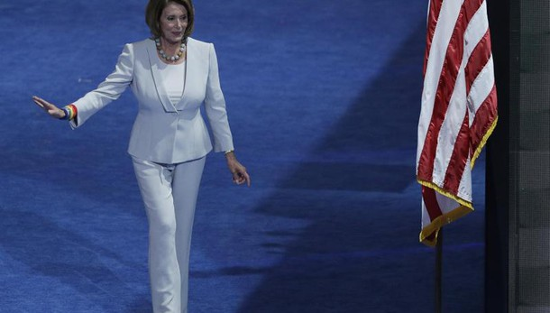 Boldrini incontra Nancy Pelosi